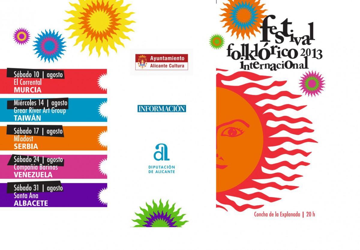 Festival Folklórico Internacional 2013 Alicante