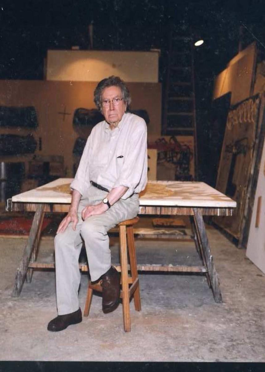 La pieza invitada. Antoni Tàpies, Blanco con 4 signos negros, 1964-1965   en el MACA
