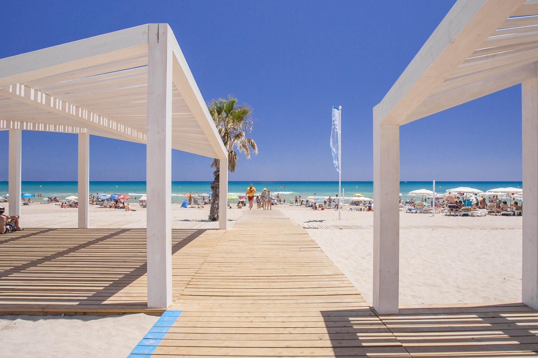 Playa de San Juan, Alicante. Área Accesible
